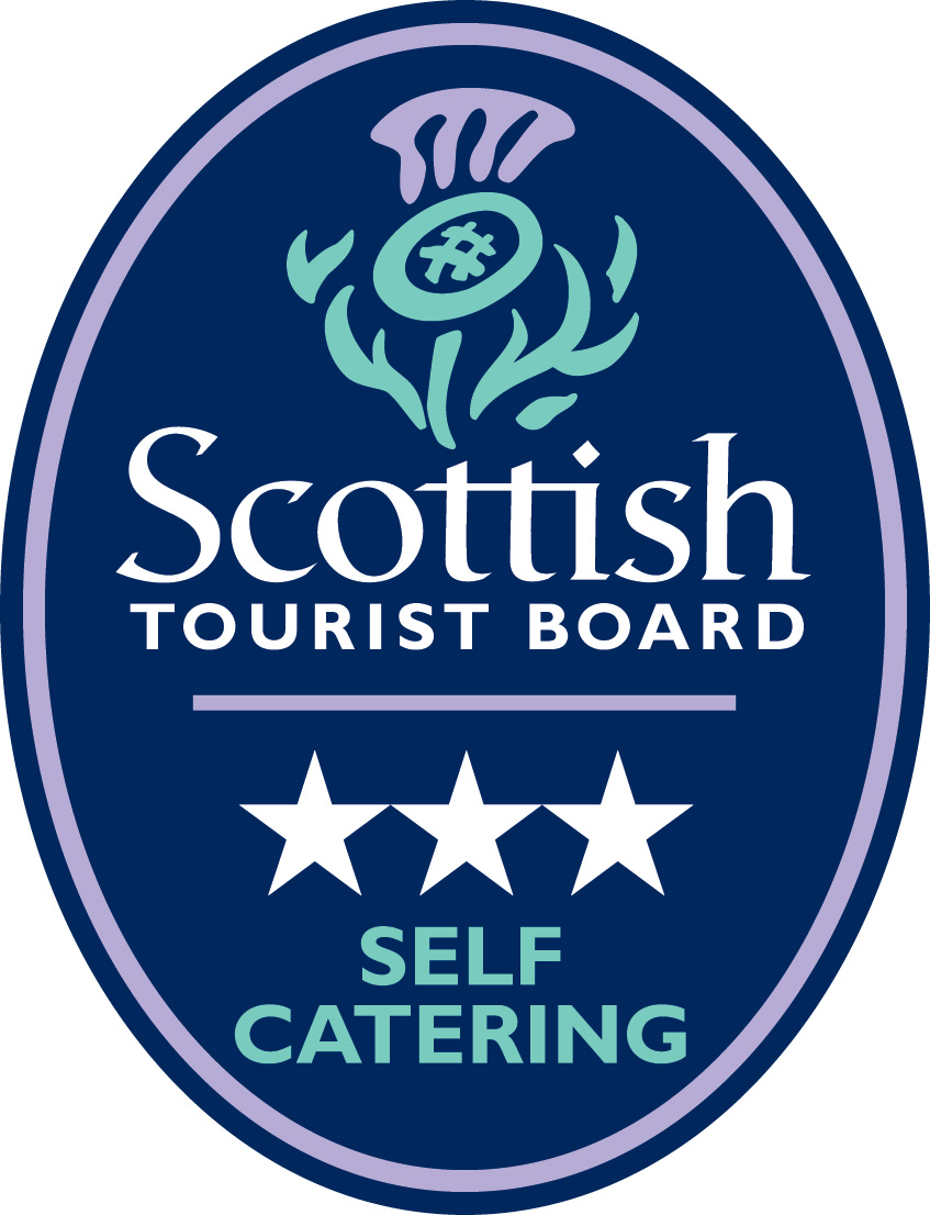 Three star self catering scottish tourist board plaque